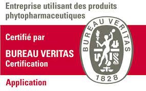 Certifiée CertiBiocide pour l'utilisation de phytosanitaires