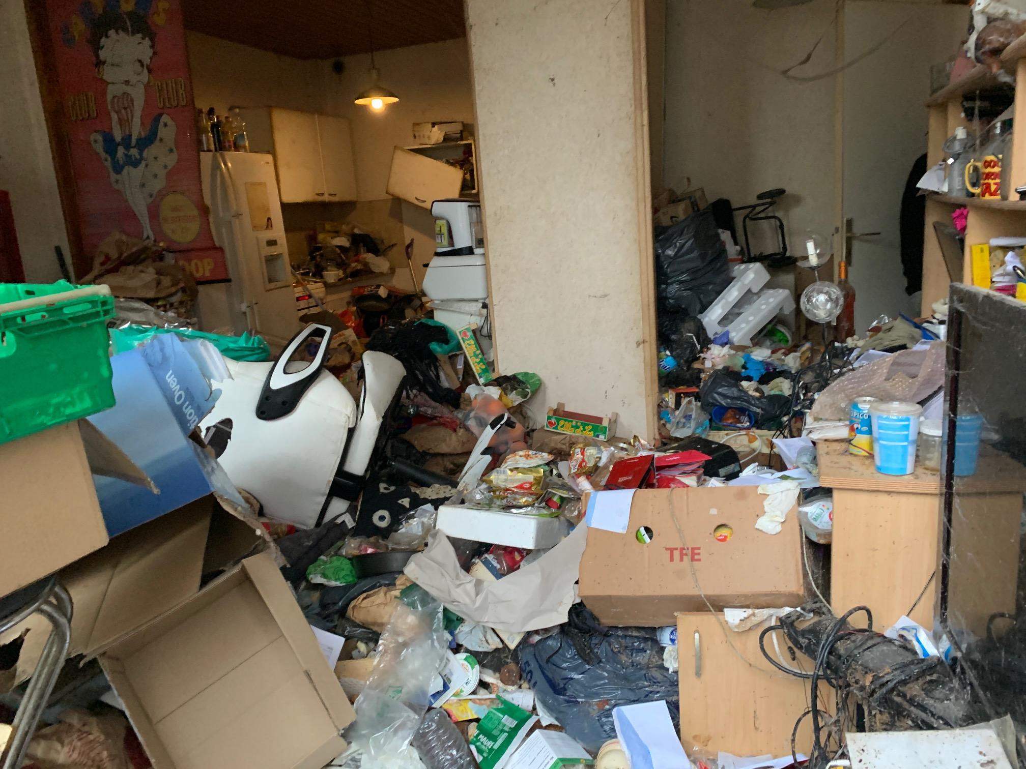Débarras d'un logement encombré